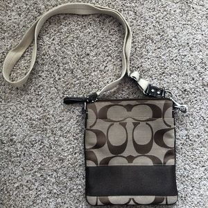 Coach Signature Logo Crossbody Bag